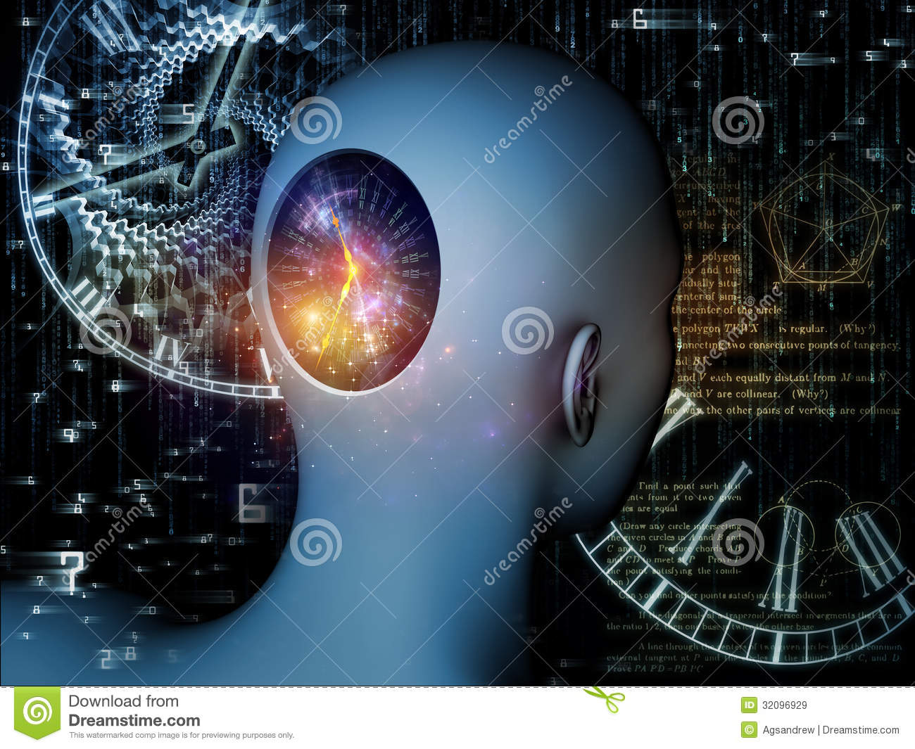 Realms Of The Mind Royalty Free Stock Images Image 32096929