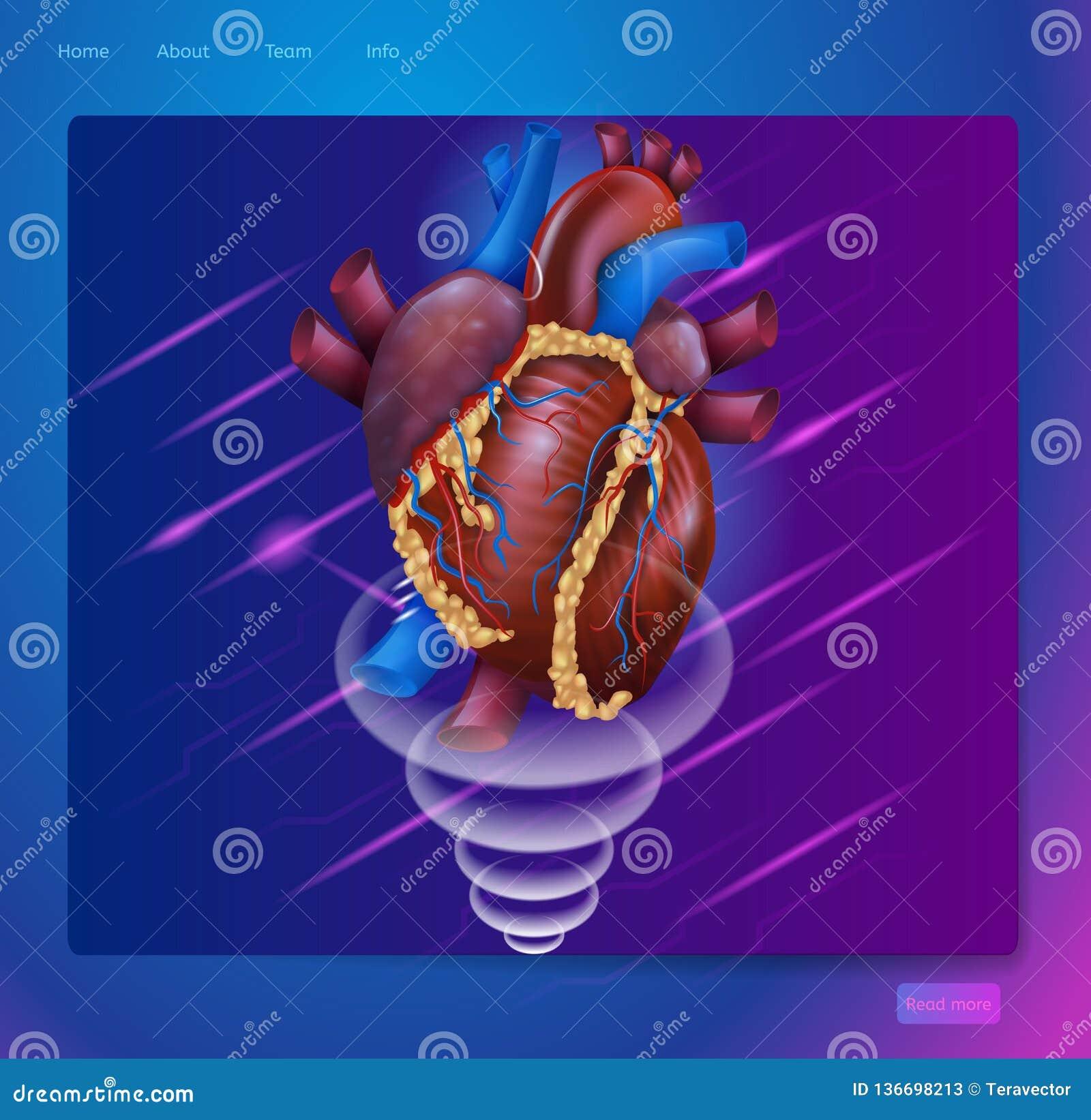 Realtà aumentata insegna isometrica nella medicina