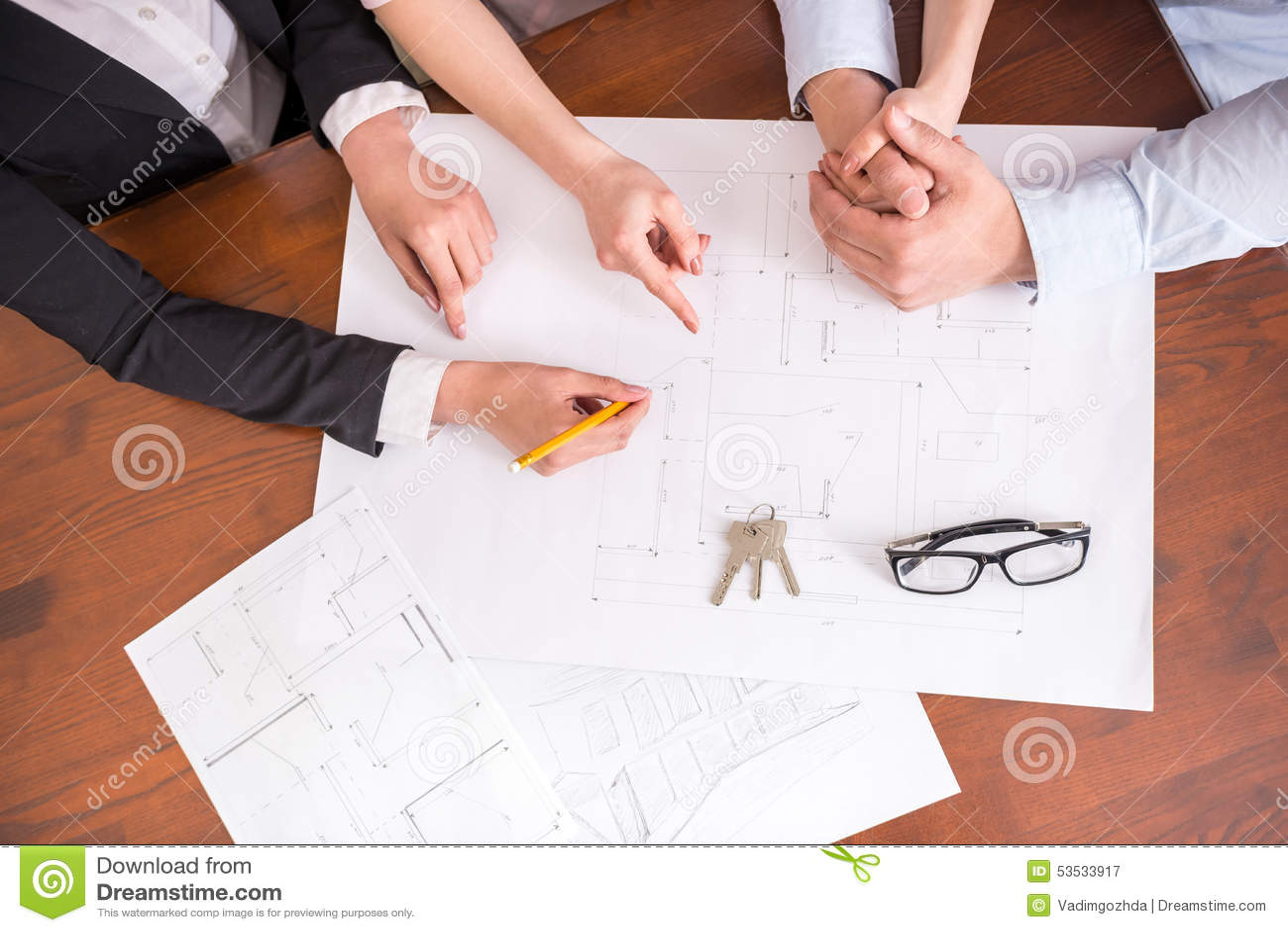 Download Realtor stock image. Image of life, management, condominium - 53533917