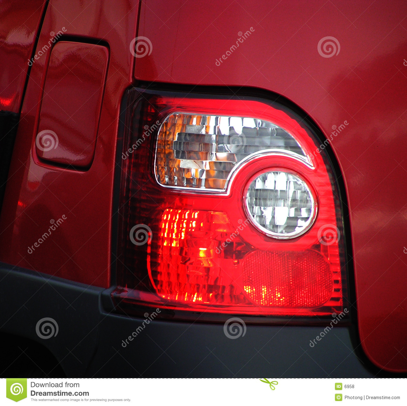 Rear brake lights