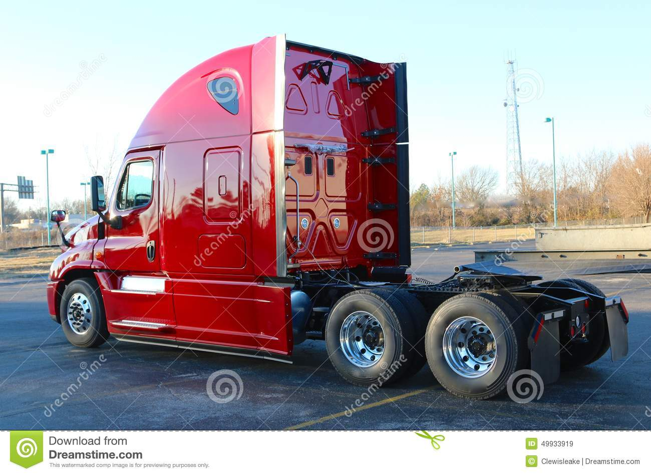 Semi Tractor Trailer : Tractor trailer editorial stock image of truck