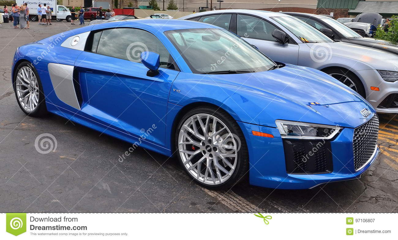 R8 V10 Editorial Photography Image Of Design Showcar