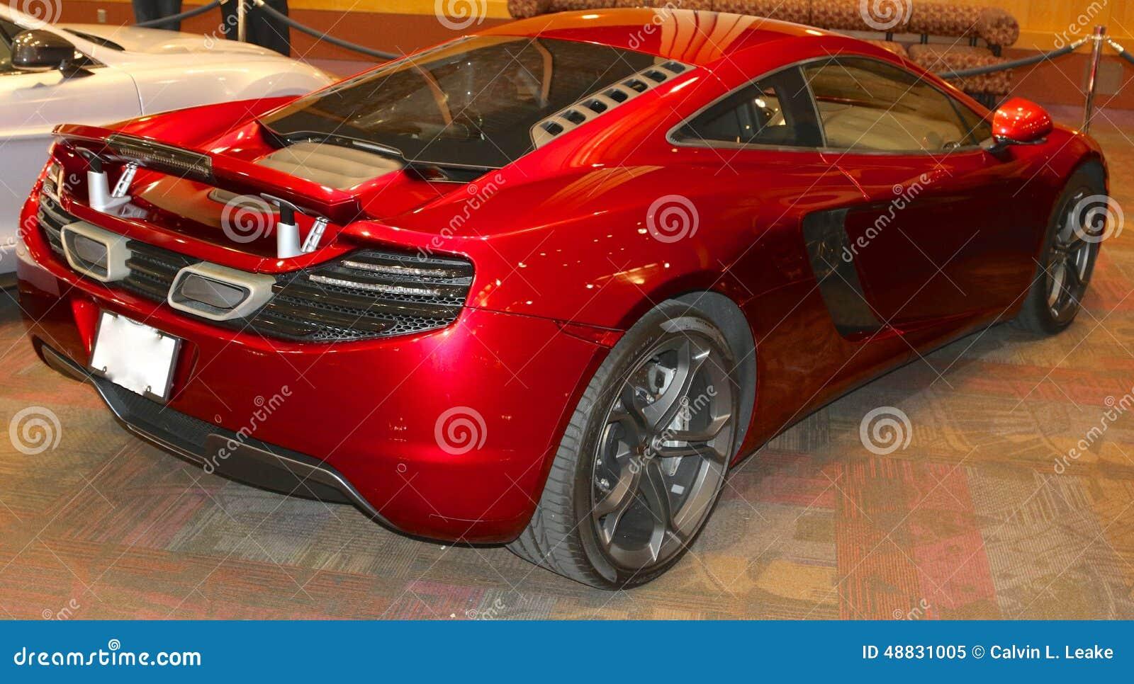 McLaren 12C Luxury Sports Car Editorial Image