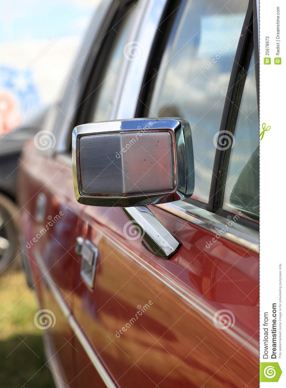 how to put a side view mirror on a car