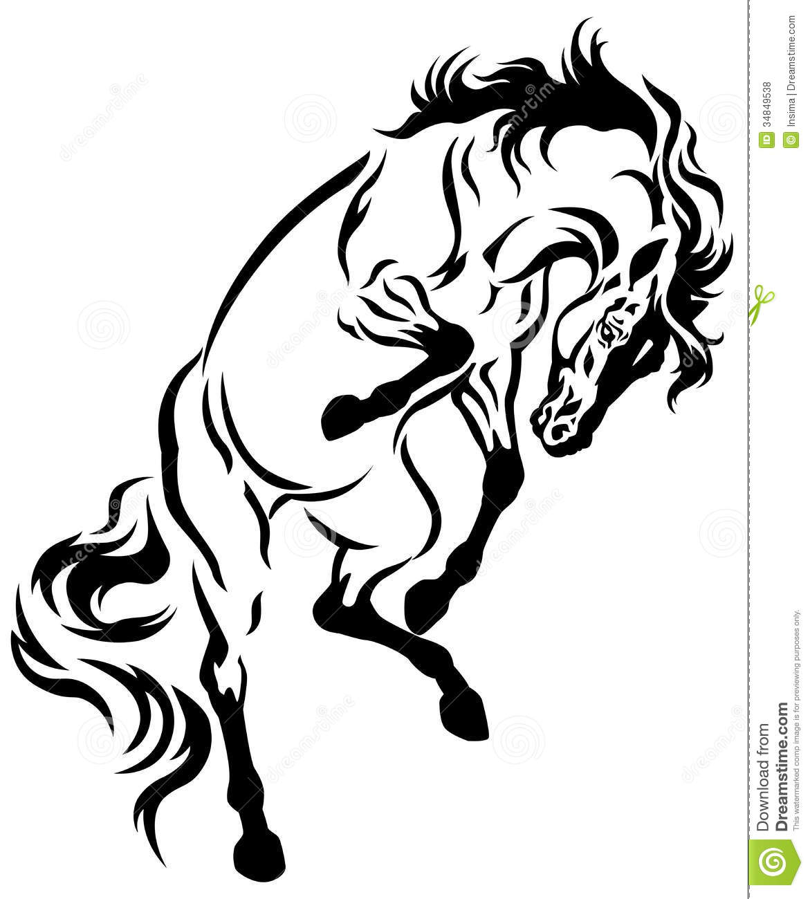 rearing horse tattoo designs the image kid has it. Black Bedroom Furniture Sets. Home Design Ideas