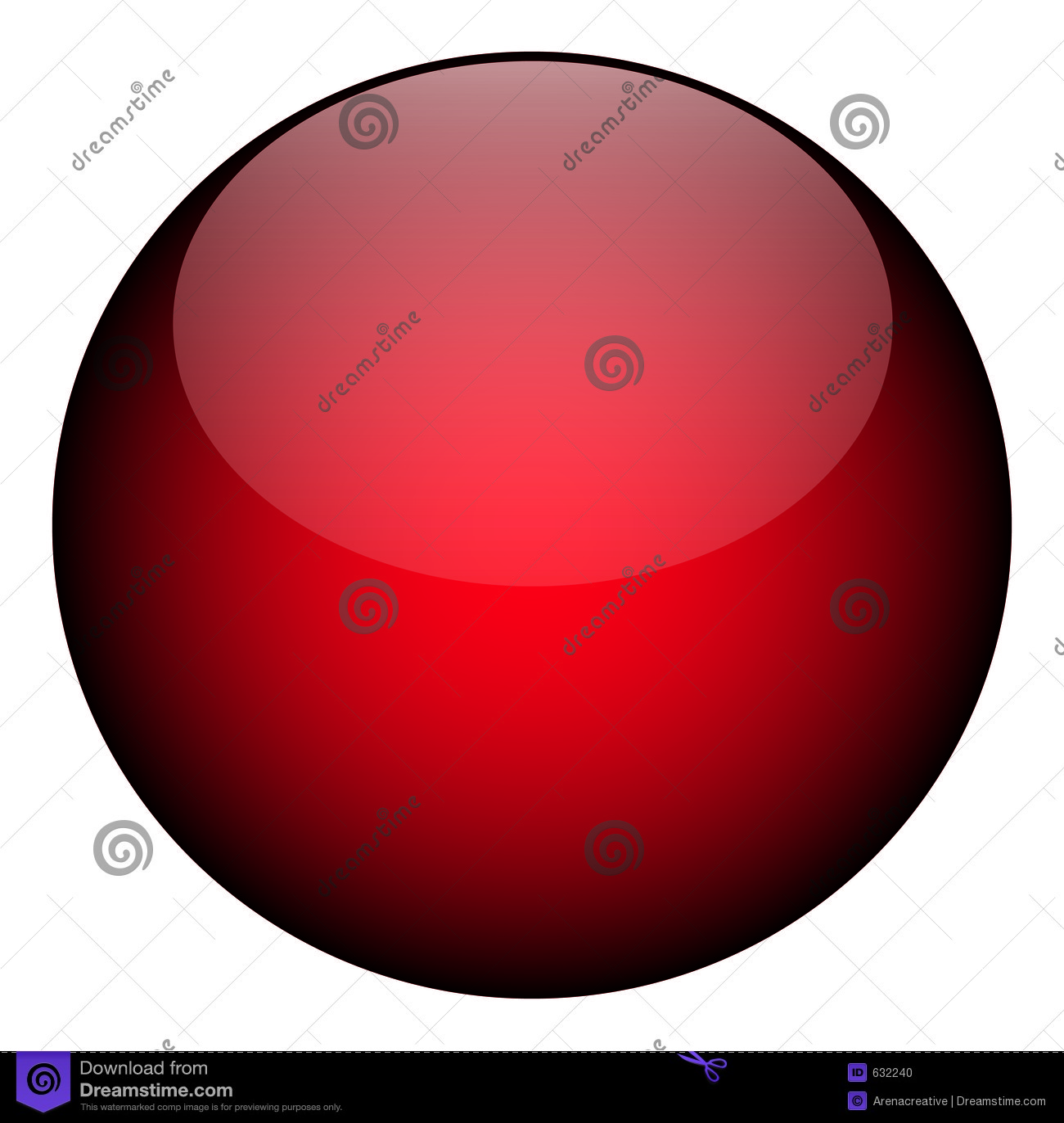 Download Reb шара иллюстрация штока. иллюстрации насчитывающей лоснисто - 632240