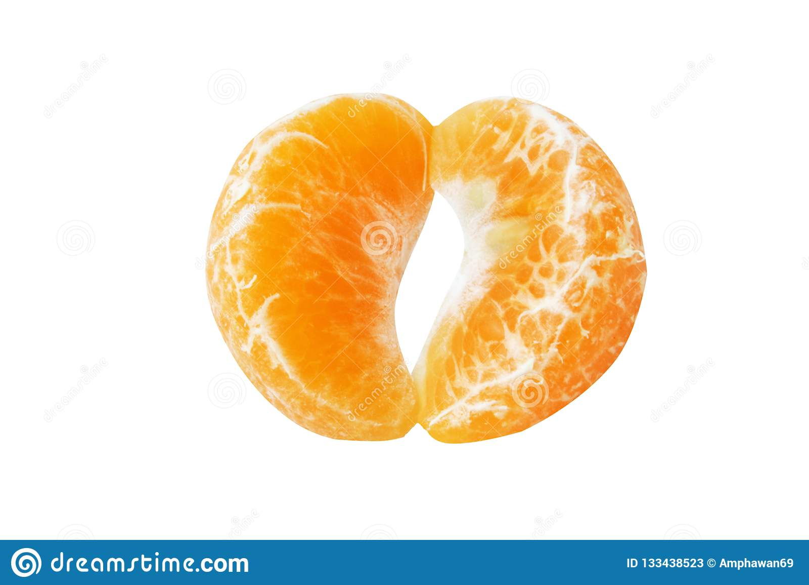Rebanada de mandarina