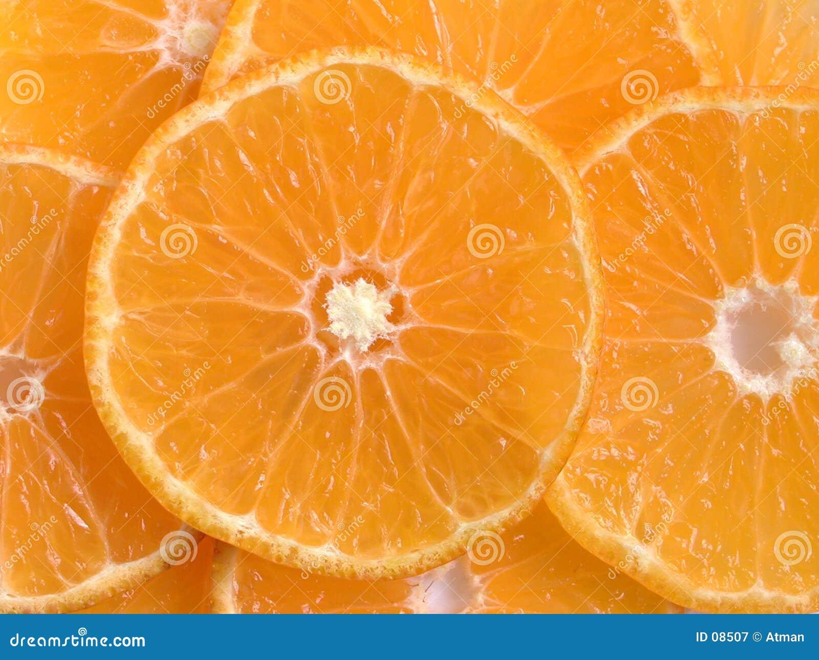 Rebanadas anaranjadas