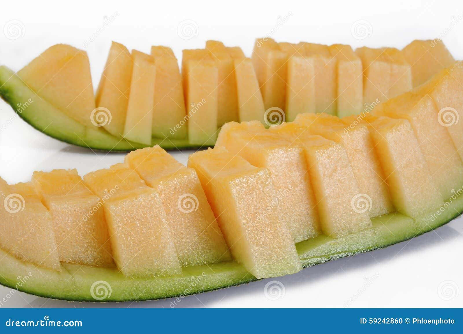 Download Rebanadas del melón foto de archivo. Imagen de alimento - 59242860