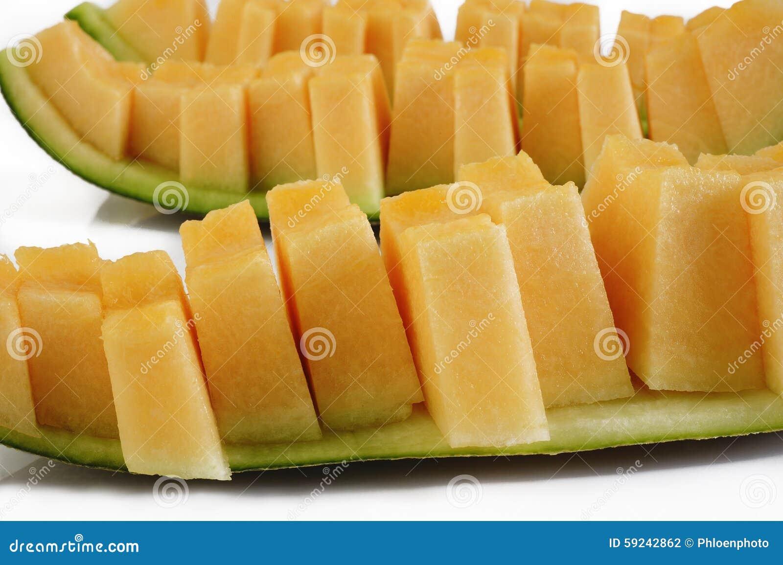 Rebanadas del melón
