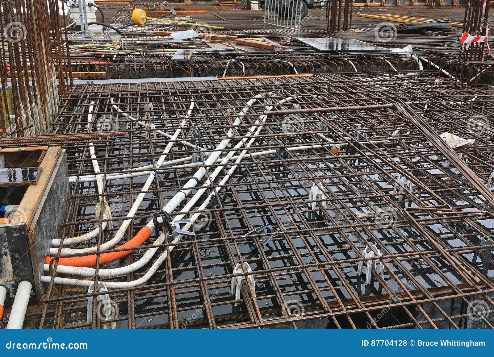 Rebar de chantier de construction