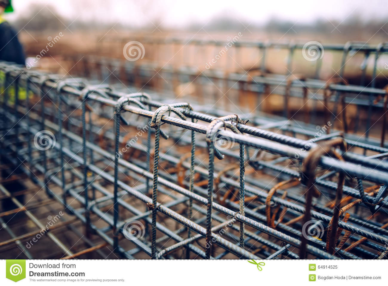 Rebar Steel Bars, Reinforcement Concrete Bars With Wire Rod Used In ...