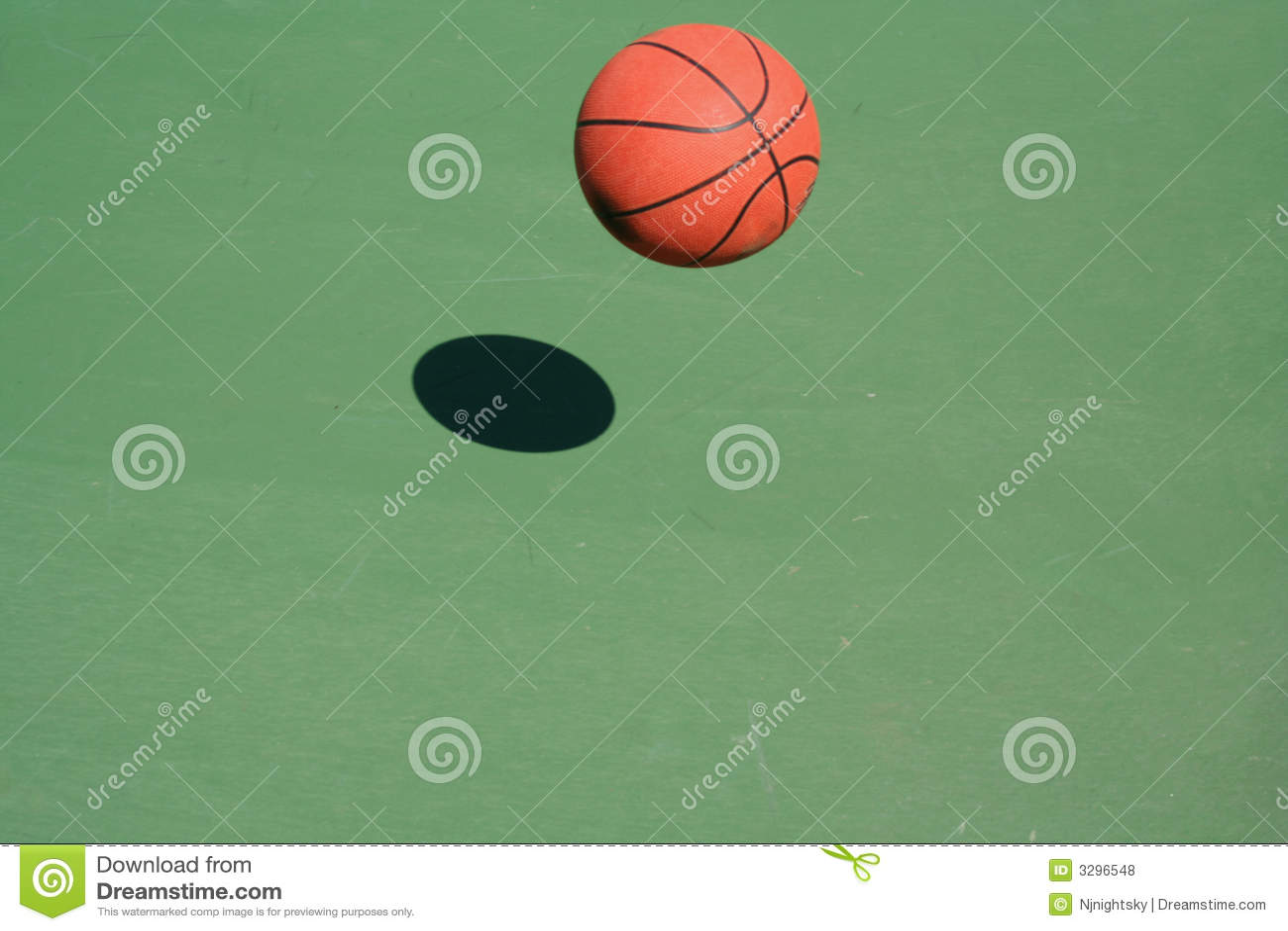 Rebondissement du basket-ball