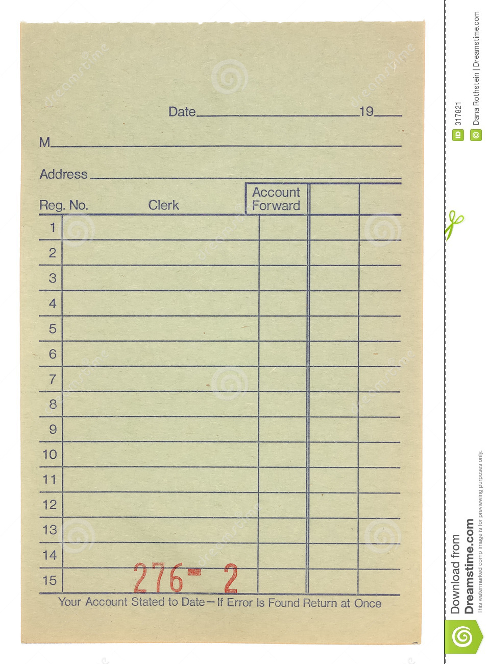 Receipt stock image. Image of bill, receipt, paper, page - 317821