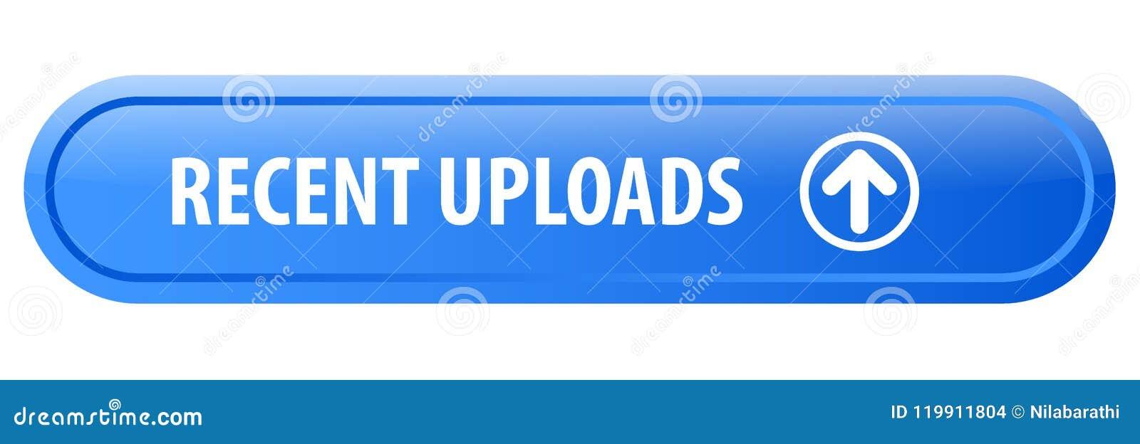 Recent uploads web button