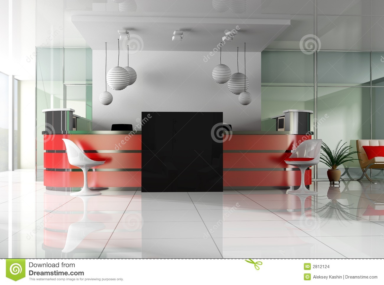 Reception in is cared hotels