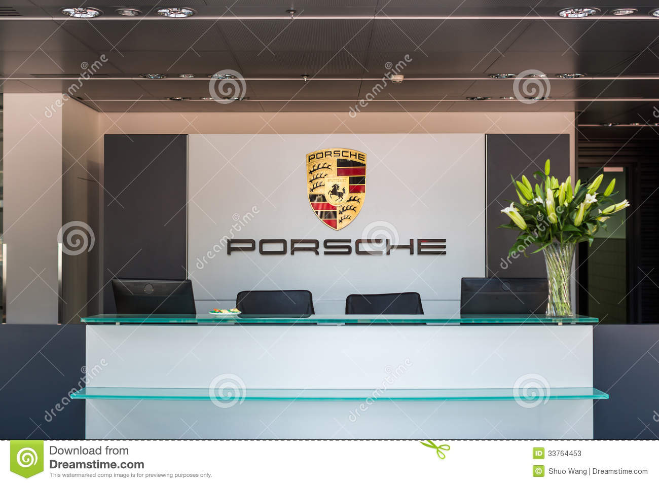 Reception Desk Editorial Stock Photo Image 33764453