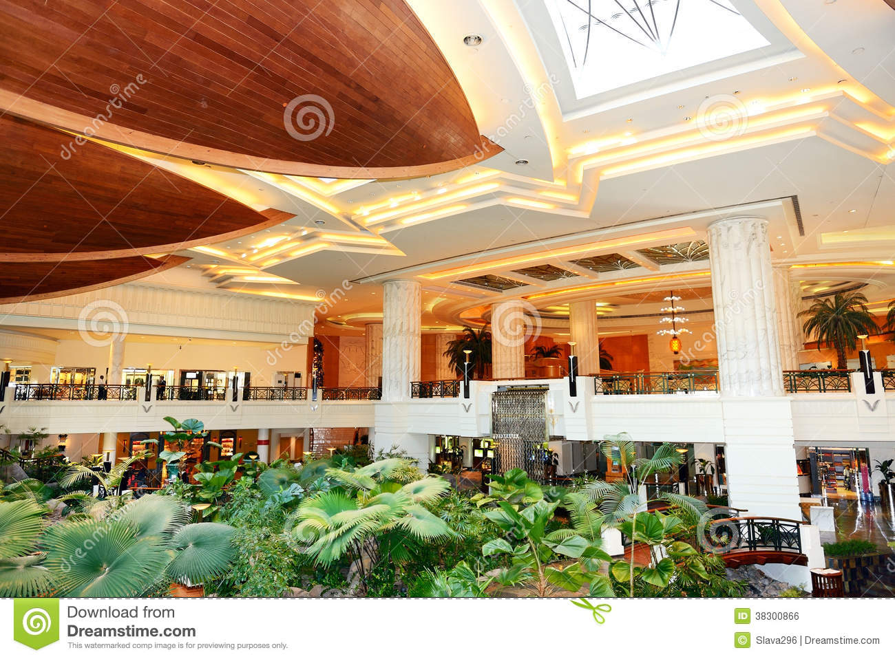 reception lobby area in luxury hotel royalty free stock image image
