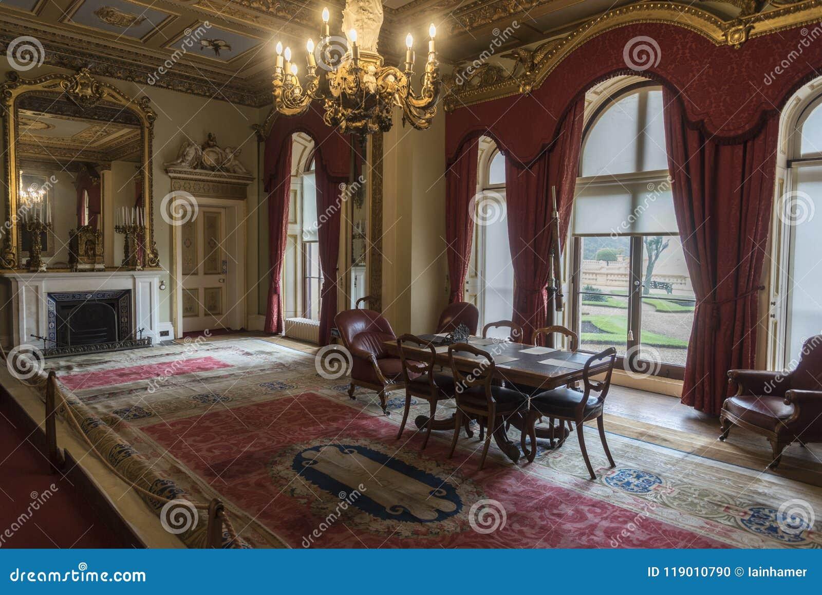 Reception room in Osborne House Isle of Wight