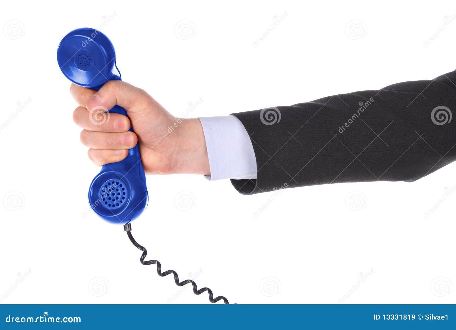 Receptor de teléfono disponible