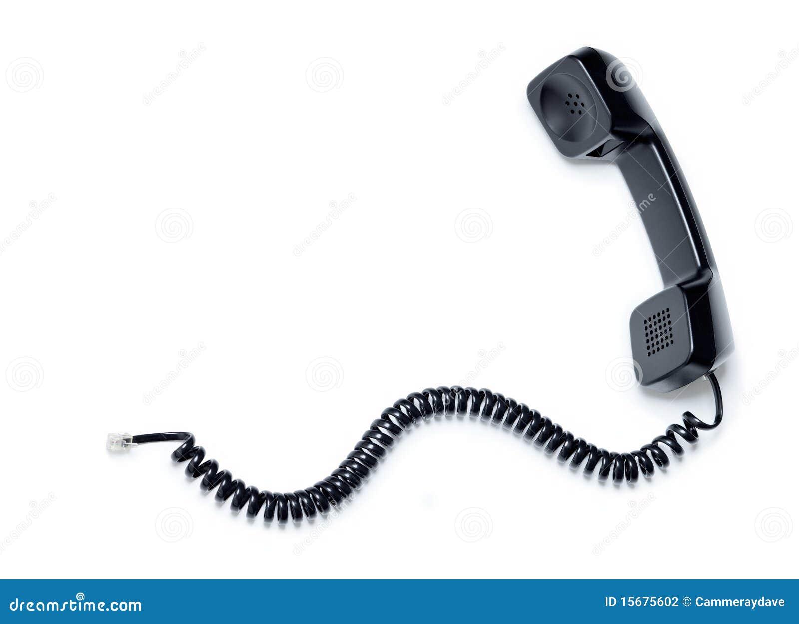 Receptor de telefone velho
