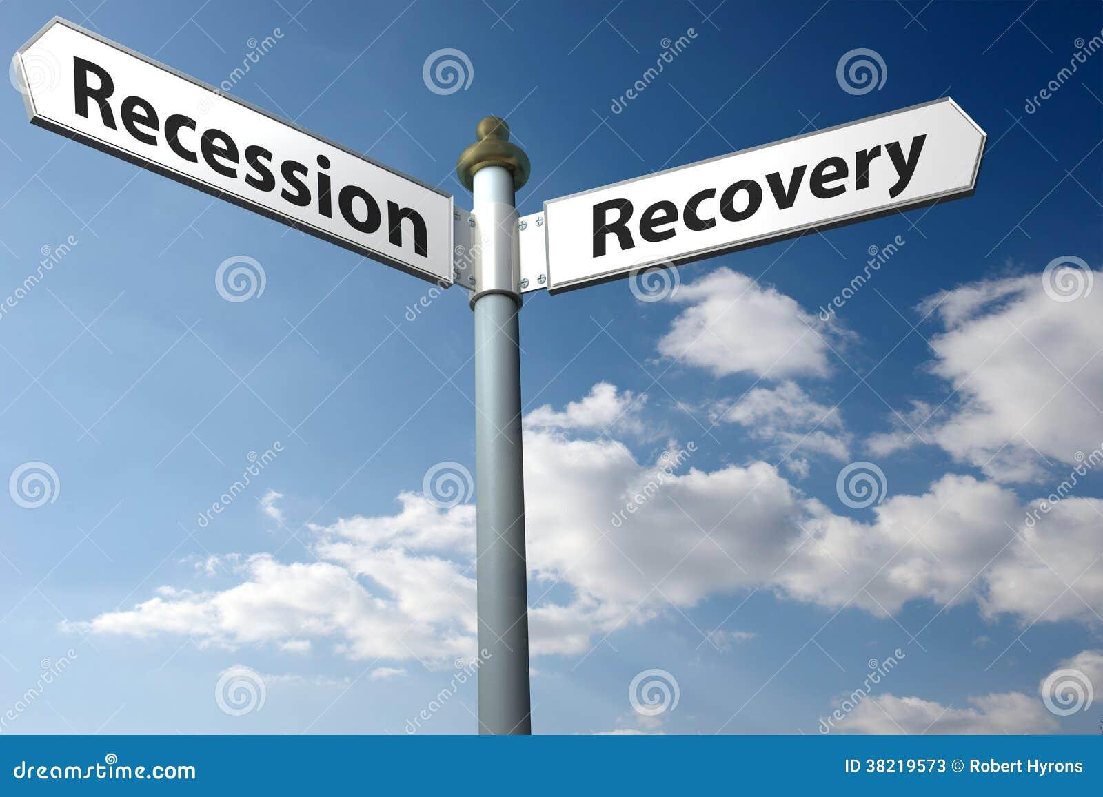 Recesja lub wyzdrowienie