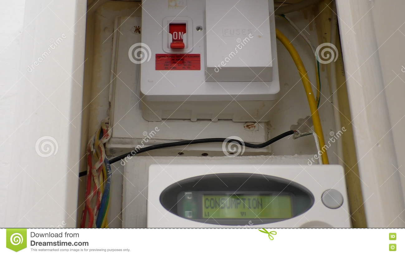 recessed smart electric meter box stock video video of home open rh dreamstime com Smart Car Fuse Box Diagram Smart Car Fuse Box Diagram