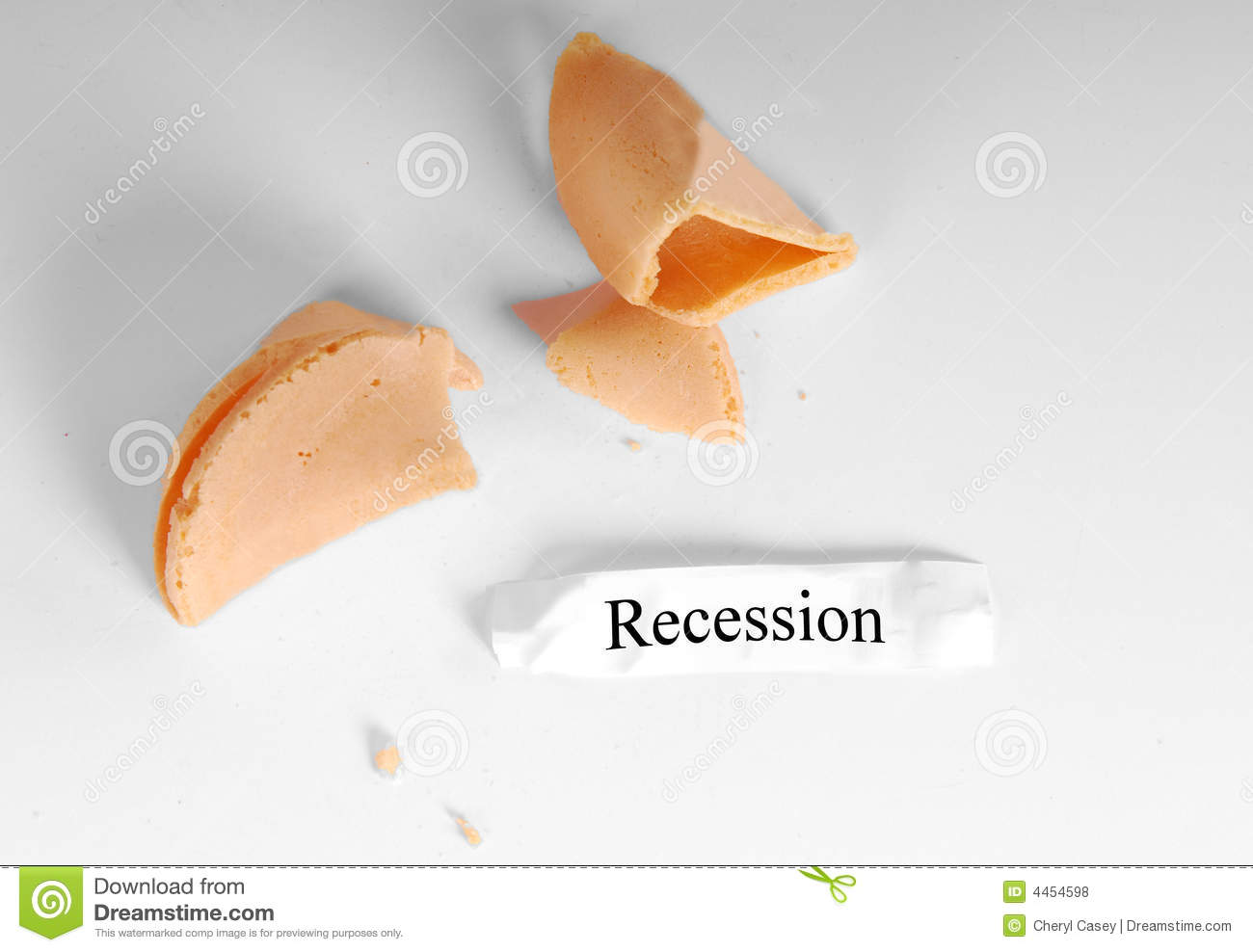 Recession in Fortune Cookie