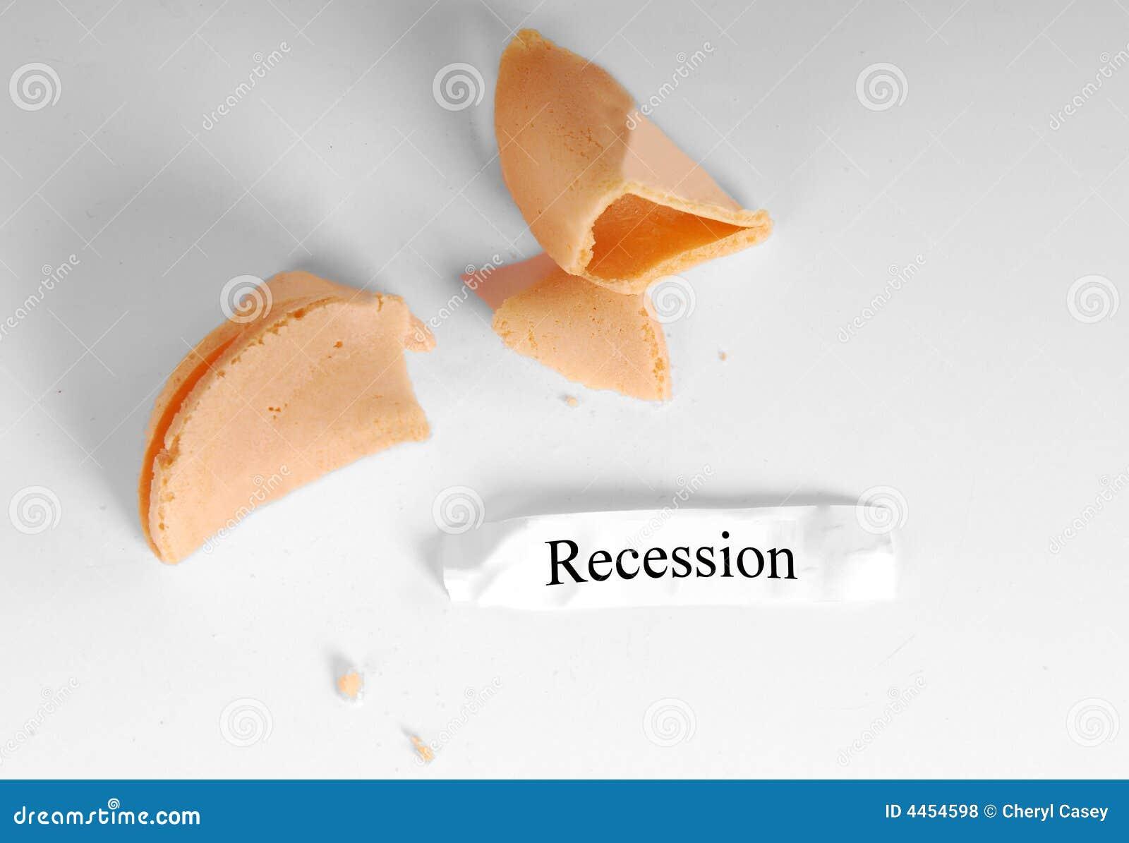 Recessione in biscotto di fortuna