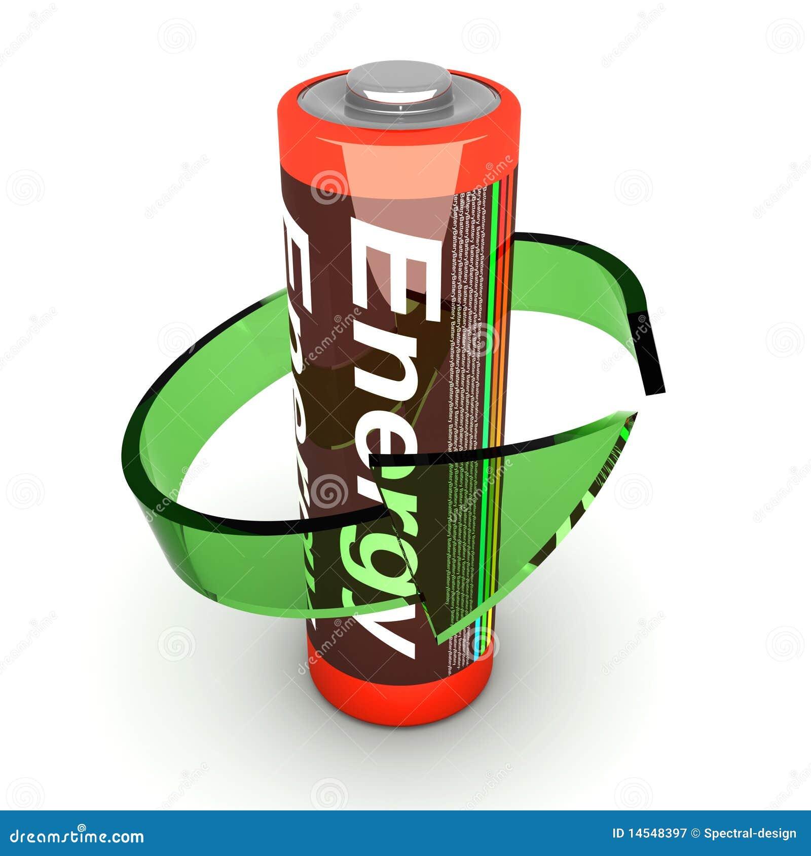 Rechargable的电池