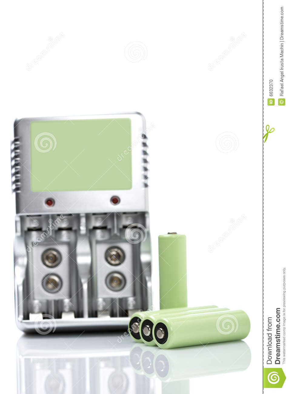 Rechargeable batteries and charger
