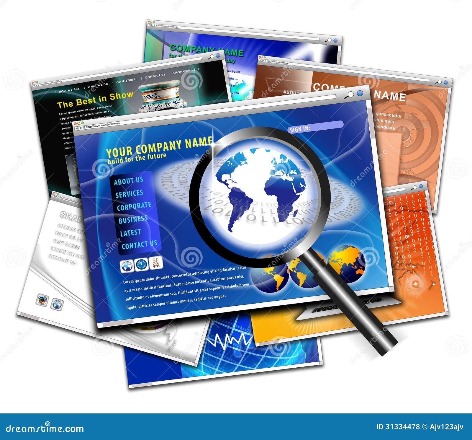 Recherche de conception de page de site web de technologie for Site web de houseoftheweek