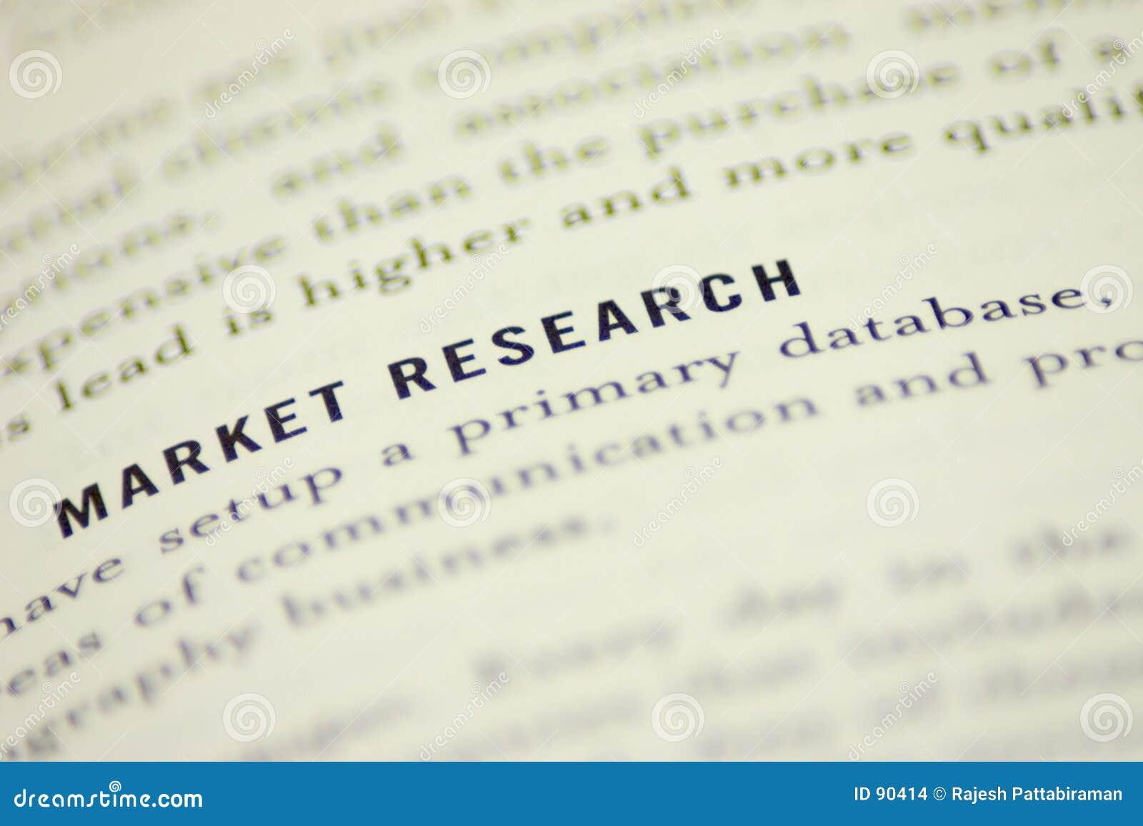 Recherche de marché