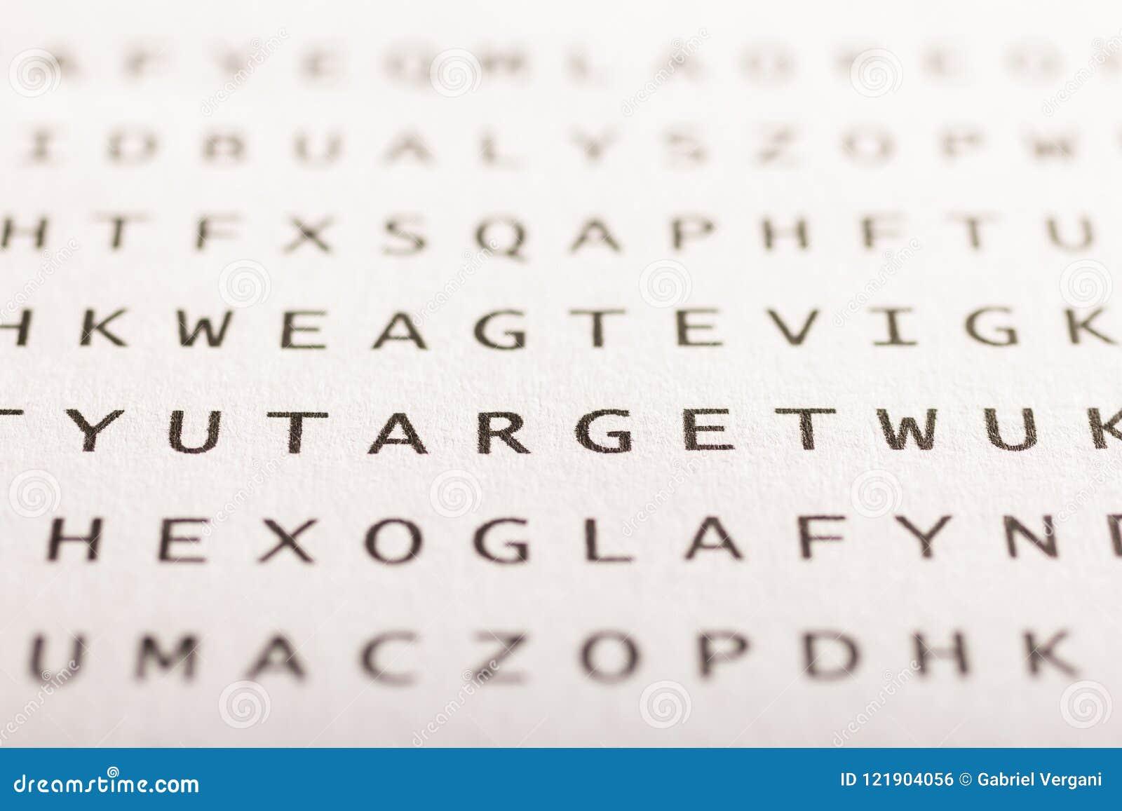 Recherche de Word, puzzle Concept au sujet de la conclusion, cible