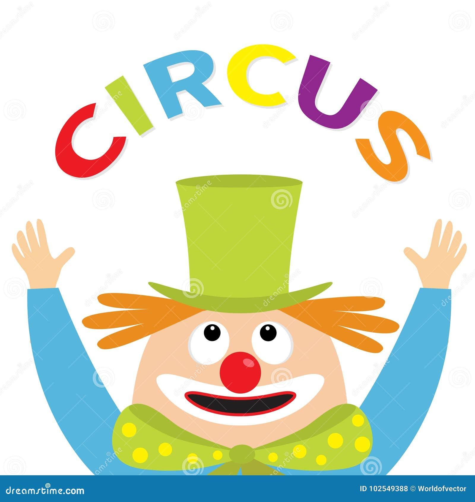 Recherche Principale De Visage De Jongleur De Clown Texte De