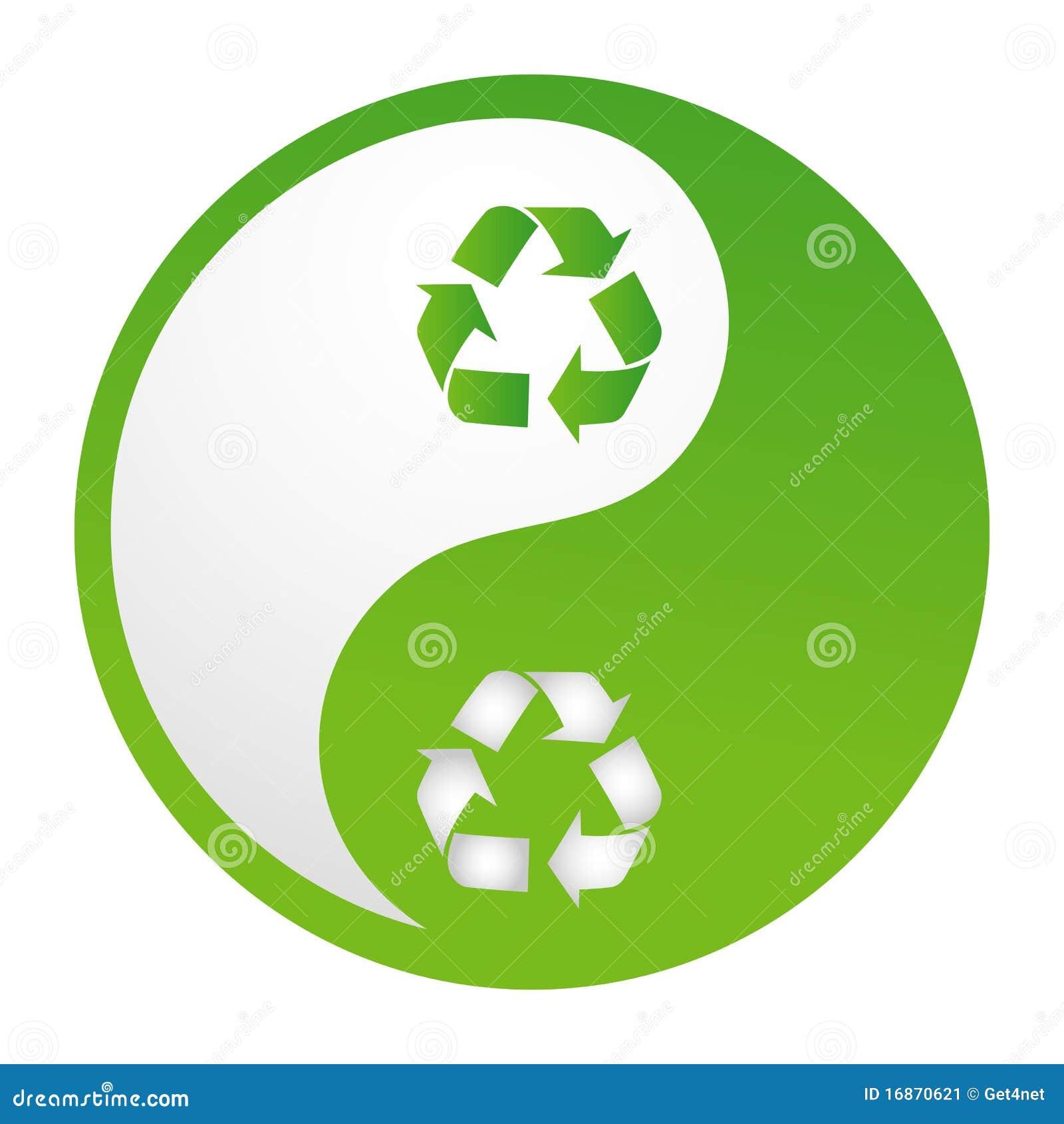 Recicl o yinyang