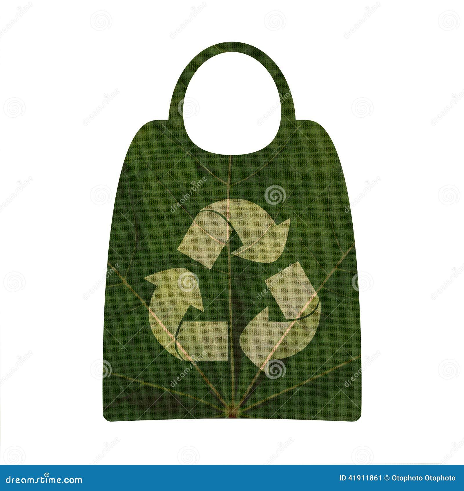 Reciclaje de símbolo y de los panieres