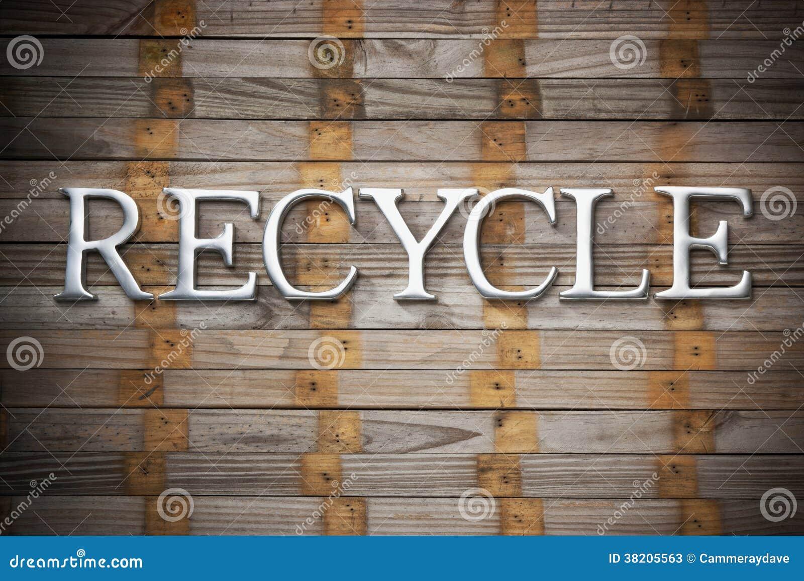 Recicle el reciclaje del fondo de madera fotos de archivo for Imagenes de reciclaje de madera