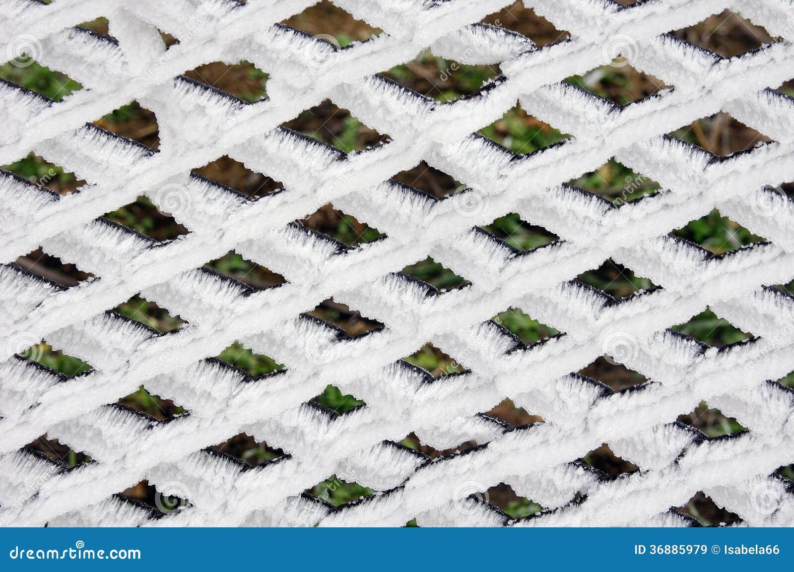 Download Recinto Con La Brina Nell'inverno Immagine Stock - Immagine di figura, gelo: 36885979