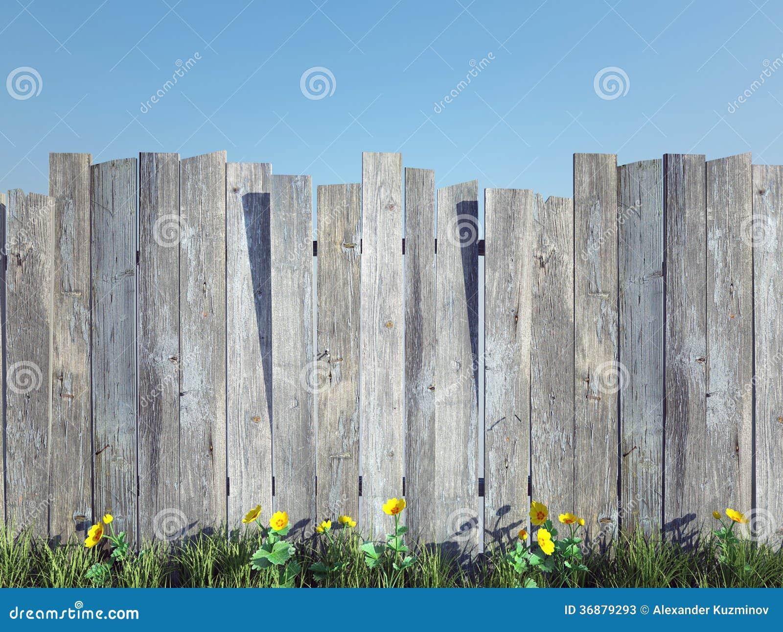 Download Recinto di legno immagine stock. Immagine di pianura - 36879293