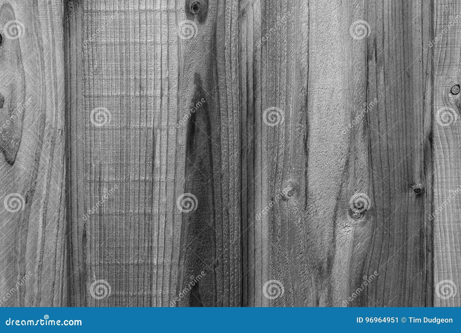 Legno Bianco E Nero : Recinto di legno grain background in bianco e nero immagine stock
