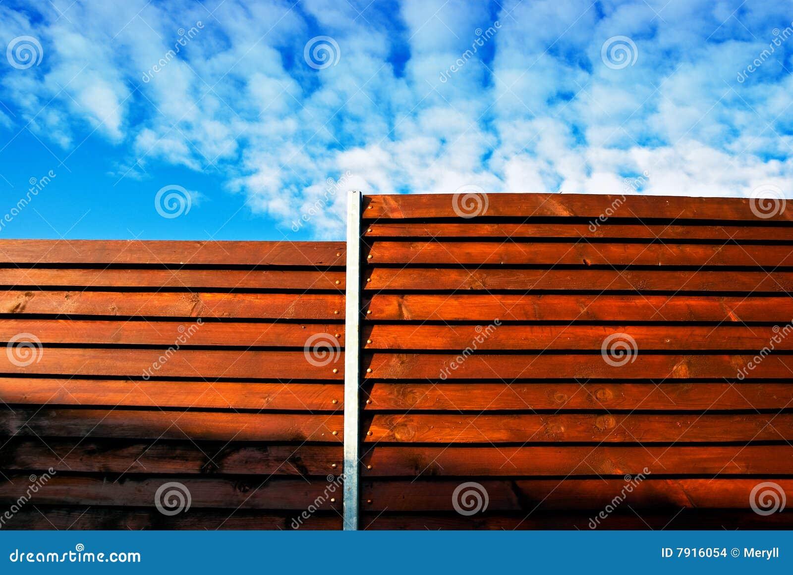 Recinzione di legno immagini stock immagine 7916054 - Recinzione piscina legno ...