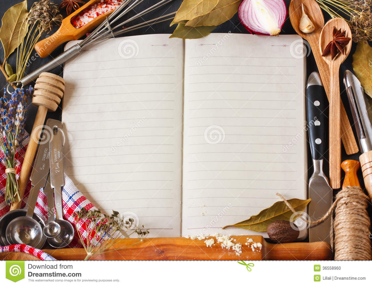 Recipe Book Stock Photo Image 36558960