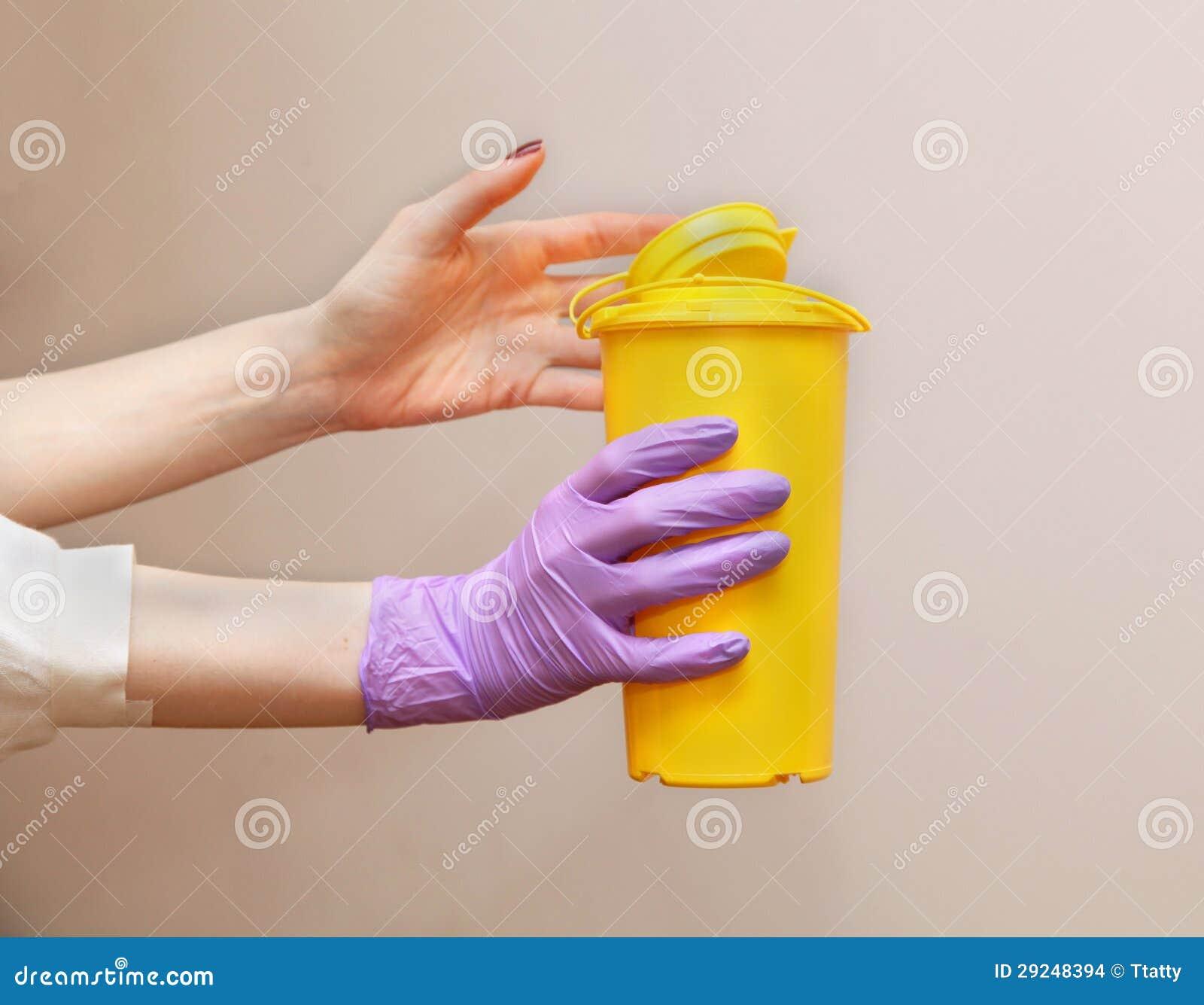 Download Recipiente waste médico foto de stock. Imagem de descartável - 29248394