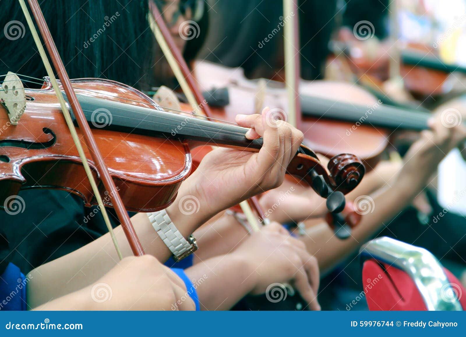 Recital dei violinisti