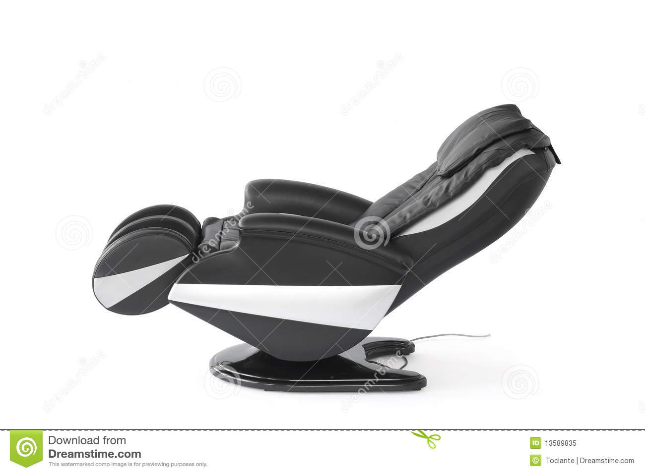 Reclined massage chair royalty free stock photo image for Chair network golf