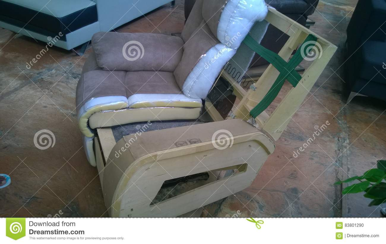 Recliner Carcass Stock Photo Image Of Comfort Leather 83801290