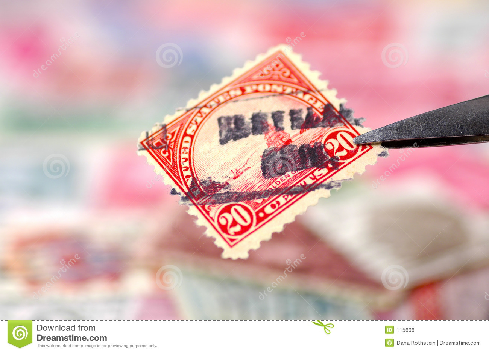 Recogida de sello