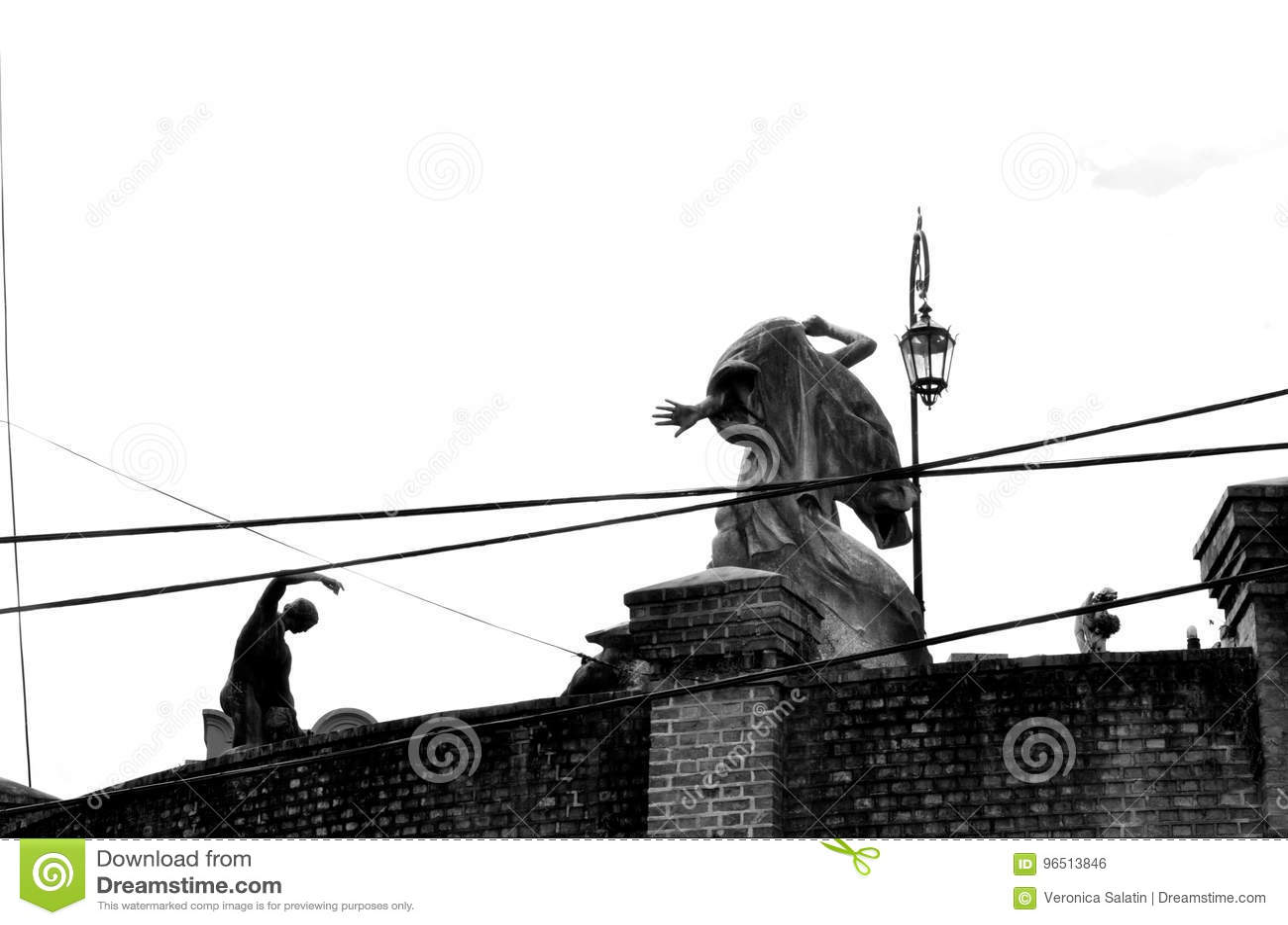 Recoleta cmentarza rzeźby