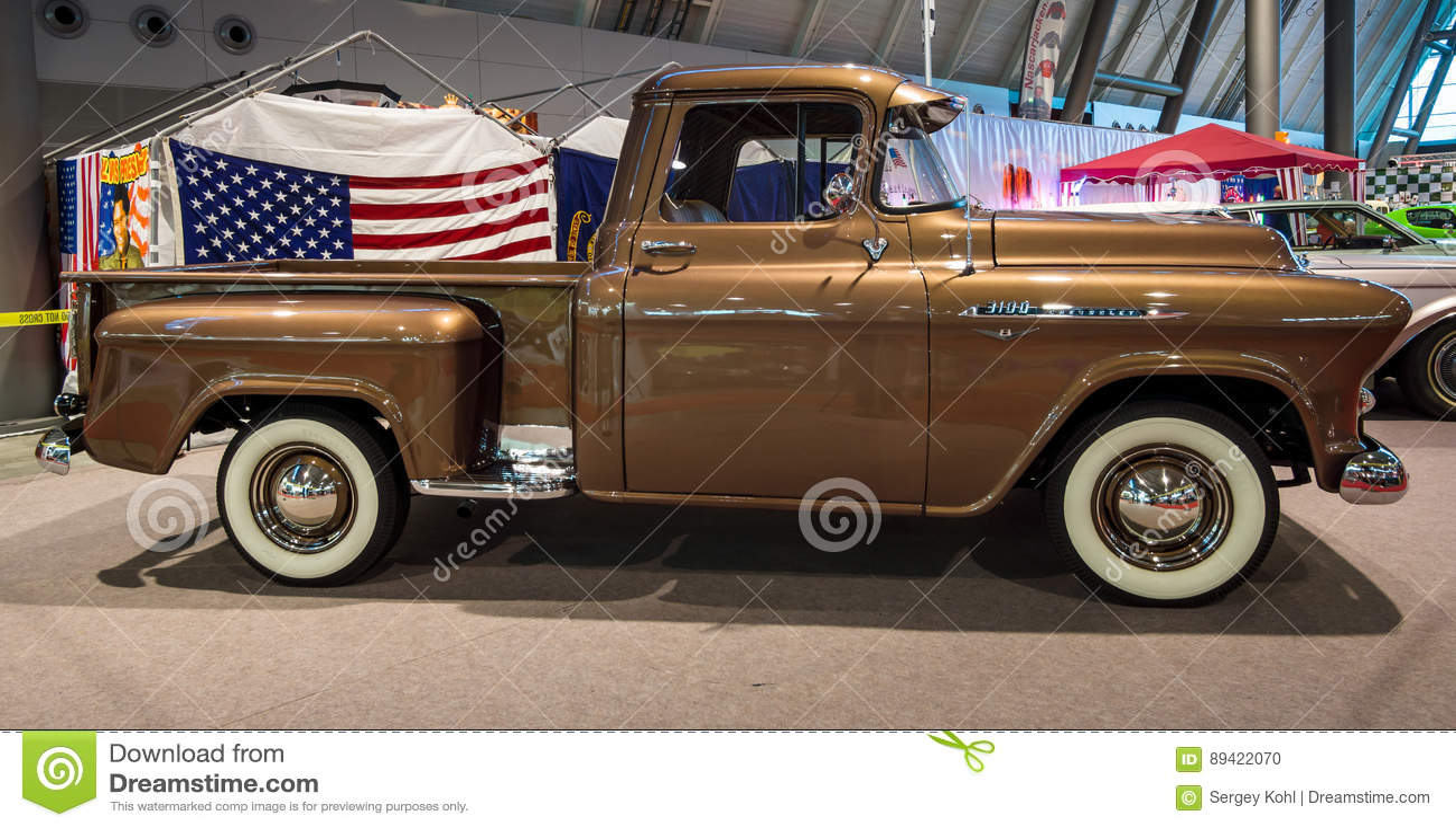 Recolhimento Chevrolet 3100, 1956
